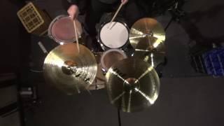"Paiste pst3 cymbal set 20"" Ride 16"" Crash 14"" Hi-Hat 10"" Splash. cymbals demo sound test review"