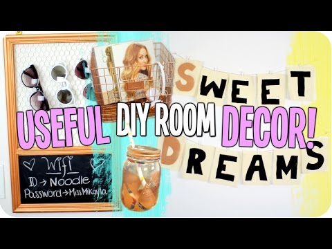 Useful DIY Room Decor | Tumblr & Urban Outfitters Inspired!