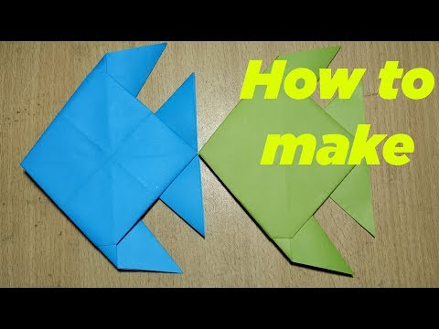 How to Make Paper Fish | Creating Paper Fish, Paper Art and Craft for Kids || DIY Fish
