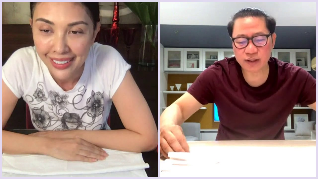 Pops Fernandez FB Live with Avel Bacudio
