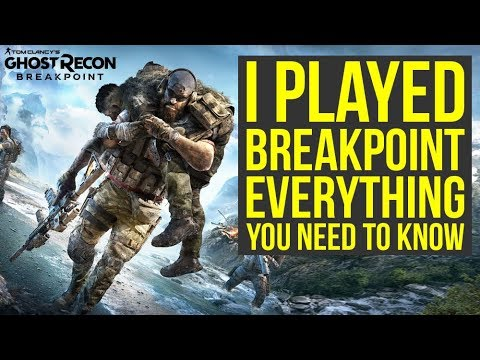 Ghost Recon Breakpoint Gameplay - EVERYTHING You Need To Know (Ghost Recon Breakpoint Trailer)