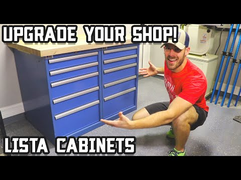 Making a Heavy Duty Workbench from Lista Cabinets!