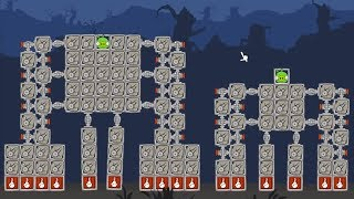 Bad Piggies - THE EXPERIMENT OF 2 KING KONGS!