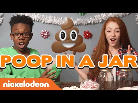 DIY Gift Guide: Holiday Poop & Ugly Sweater Challenge | Nick