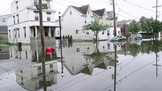 Severe weather spurs flooding in New Jersey