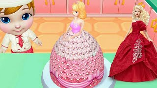 3D WEDDING CAKE GAME FOR BRIDAL SHOWER HOW TO MAKE CAKES🎂 Real Cake Compilation