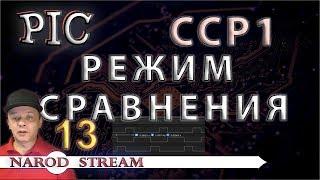 Программирование МК PIC. Урок 13. Модуль CCP. Режим сравнения