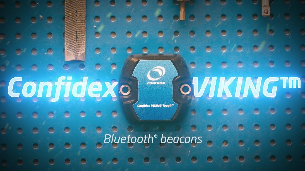 Confidex VIKING™ Bluetooth® beacons