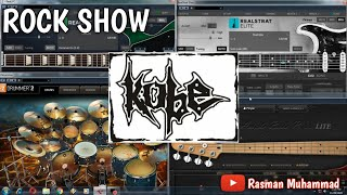 Kobe - Rock Show (Cover by Rasman Muhammad) Instrument/Lyric Karaoke
