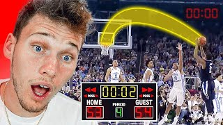 Craziest Buzzer Beater You Will See Today!