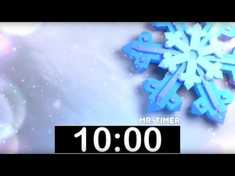 10 Minute Timer with Classical, Calm Music! Countdown Timer for Kids, Piano  Instrumental Music!