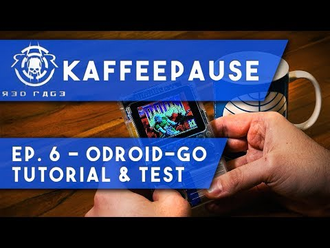 kaffeepause-ep.6---odroid-go---tutorial-&-test-🕹️👾