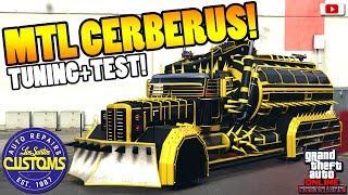 🔥🛠Erster Flammenwerfer Truck CERBERUS Tuning+Test!🔥🛠[GTA 5 Online Arena War Update DLC]
