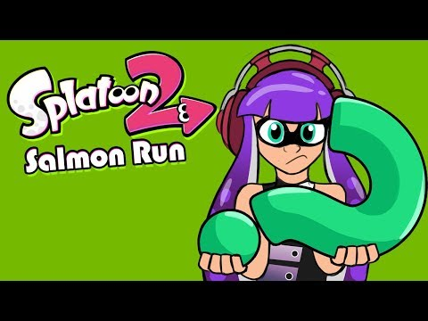 What Weapons is Mr Grizz Giving Us Today? (Splatoon 2 Salmon Run Livestream)
