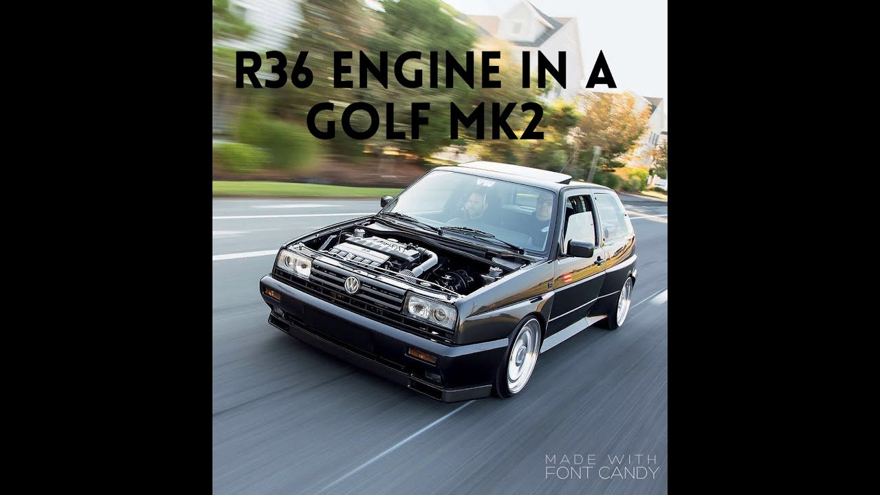 brutal golf mk2 r36 engine big turbo youtube. Black Bedroom Furniture Sets. Home Design Ideas