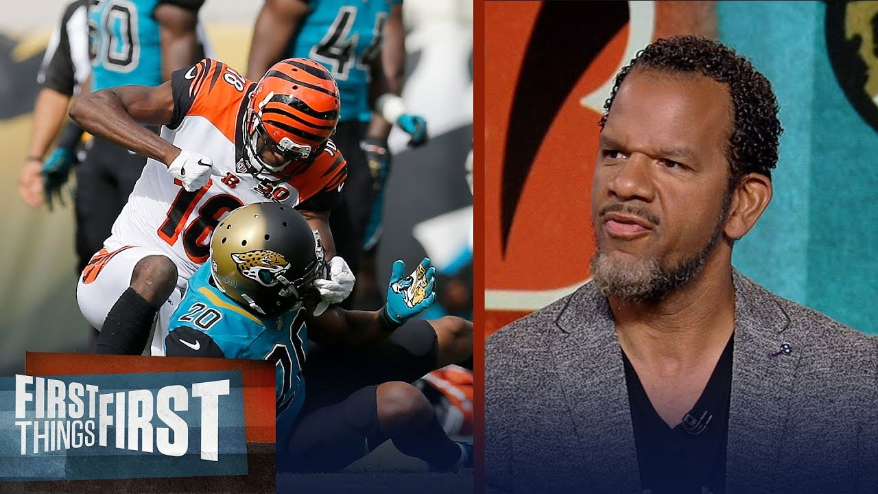 a-j-green-fights-with-jalen-ramsey-during-week-9-andre-reed-weighs-in-first-things-first