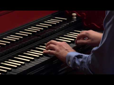 J.S. Bach: The Italian Concerto BWV 971, Michael Peterson, Harpsichord 4K UHD
