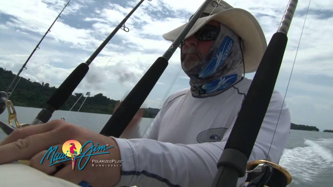 9e1ef8a509c5 Maui Jim Guy Harvey Sunglasses - YouTube