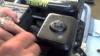 видео Воздушный фильтр и корпус на двигатель Honda GX 340