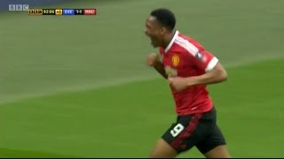 ANTHONY MARTIAL LAST MINUTE GOAL vs Everton - FA CUP SEMI FINAL 2016