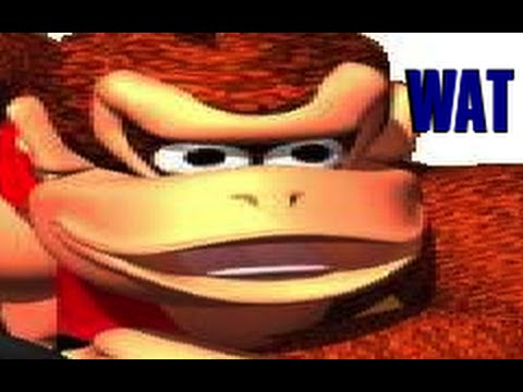 Donkey Kong Makes Weird Faces Youtube