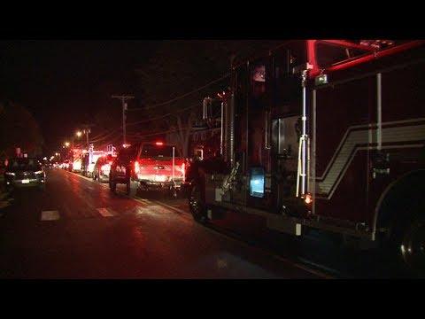 Procession for fallen Sun Prairie firefighter