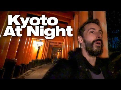 Inside Kyoto's Mountain Shrine At Night | Fushimi Inari