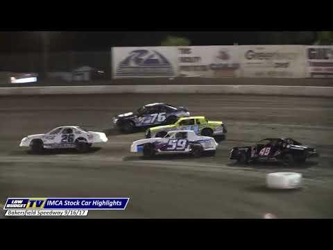 HIGHLIGHTS: Bakersfield Speedway 9-16-17