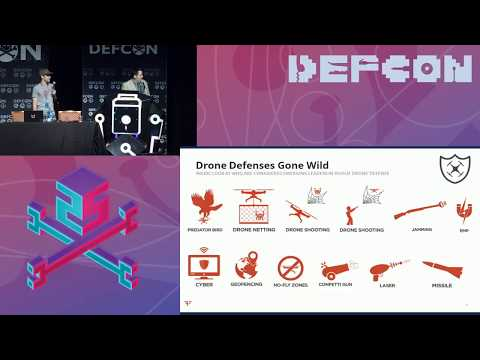 DEF CON 25 - Francis Brown, David Latimer - Putting the Emerging Drone Defense Market to the Test