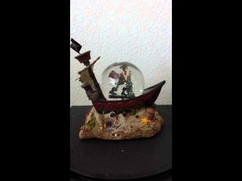 Pirates of the Caribbean Snowglobe