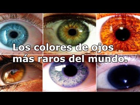 Top 7 'Los colores de ojos más raros del mundo'
