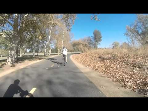American River Bike Trail October 5, 2014 Part 1 Discovery Park to Beals Point, Folsom SRA