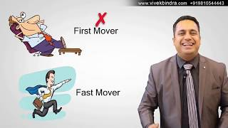 Dr. VIVEK BINDRA | कौन हैं Fast Movers & First Movers? ऐसा वीडियो नहीं देखा कभी आपने