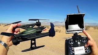 Рамос 510 м Висота хижак провести з FPV огляд льотних випробувань безпілотника