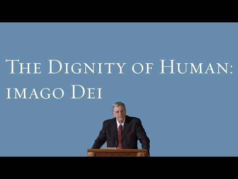 The Dignity of Human: Imago Dei - James Charlesworth