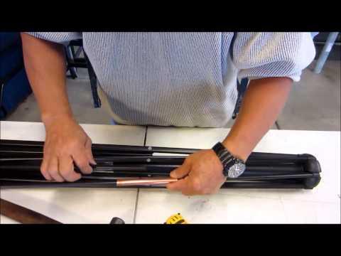 How To Repair A Patio Umbrella Rib Youtube
