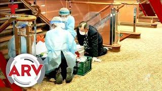 Coronavirus: Hombre se contagia en tan solo segundos tras estar en contacto con enfermera