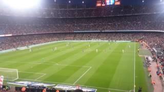 FC Barcelona gegen Real Sociedad 3:2 Camp Nou