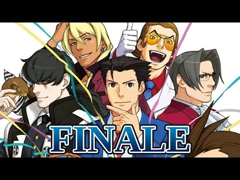 BENEATH THE MASK - Let's Play - Phoenix Wright: Ace Attorney: Dual Destinies - 31 - Ending