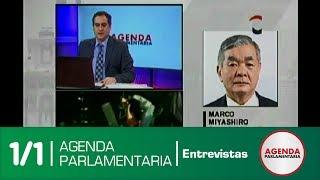 Entrevista: Congresista Marco Miyashiro (17/07/17)