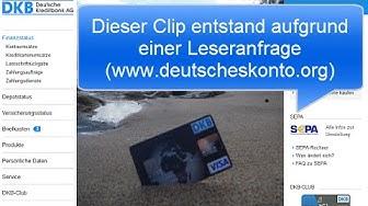 DKB Visa Card | Problem und Lösung!