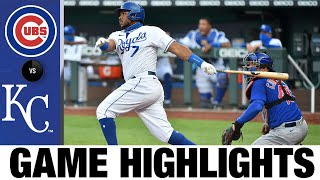 6 Run 3rd Inning Propels Royals To Victory | Cubs Royals Game Highlights 8/6/20