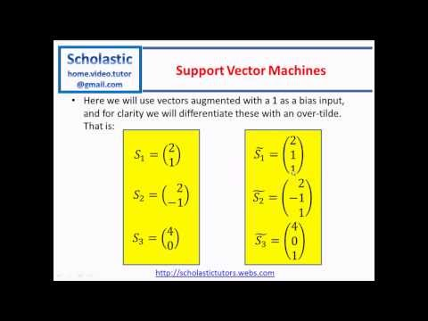 Support Vector Machines (SVM) - Part 1 - Linear Support Vector Machines
