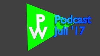 PeetWiePodcast - Juli