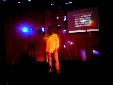 Albert Redeaux surprises everyone by singing at local Karaoke bar and makes the crowed go wild .