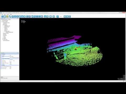 EIVA NaviSuite - Structure and seabed inspection - Point cloud navigation