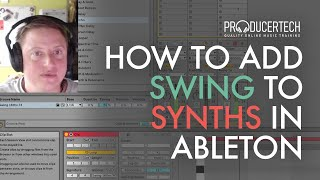 How to add swing to synths with Paul Maddox