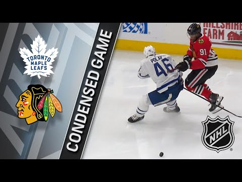 01/24/18 Condensed Game: Maple Leafs @ Blackhawks