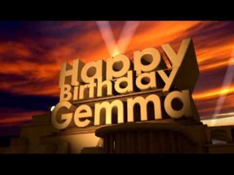 Happy Birthday Gemma