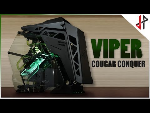 COUGAR CONQUER Gaming PC Case - COUGAR